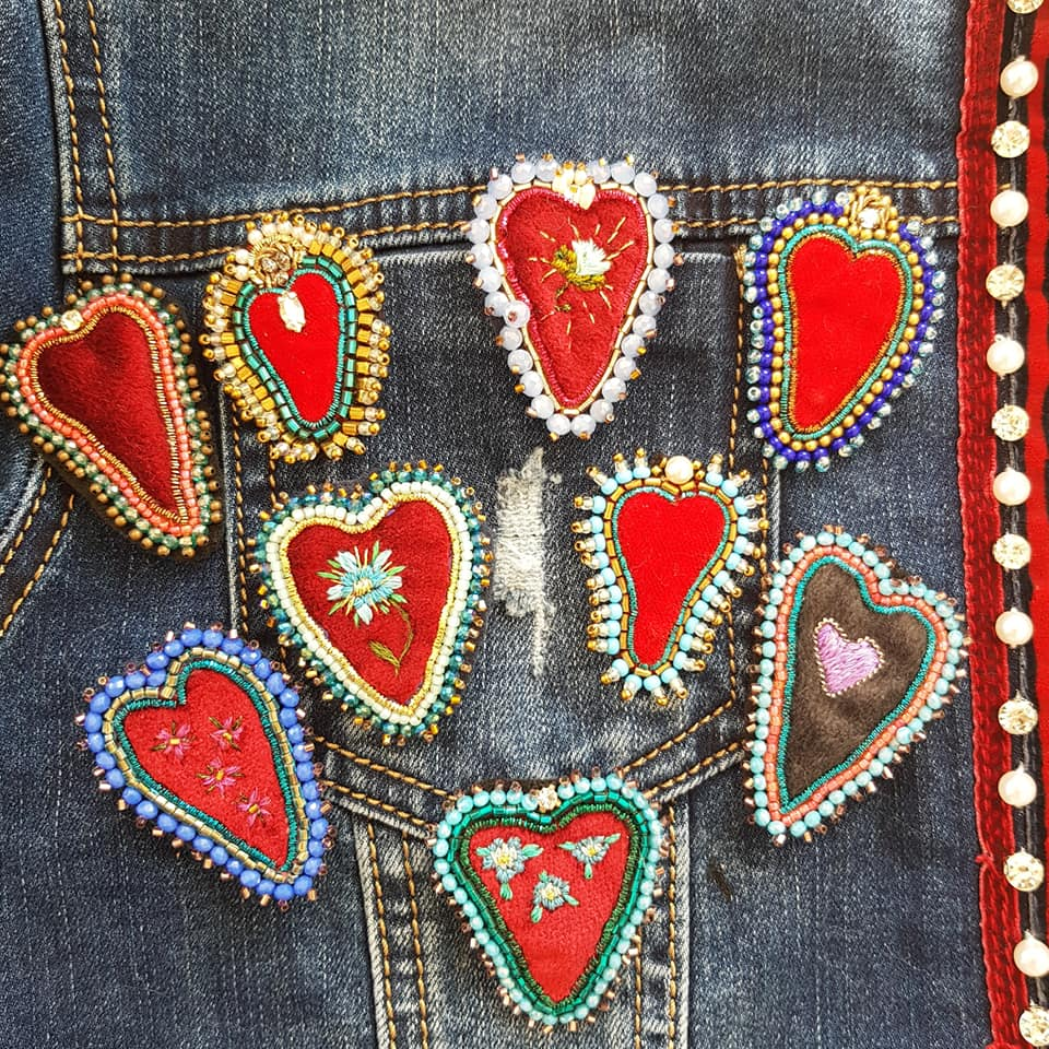 handmadesacred heart cuore sacro